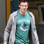Cory Monteith at Vancouver Canucks vs San Jose Sharks Game 1 Western Conference Finals 85420