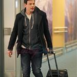 Cory Monteith returns to Vancouver on Snow Day during US Thanksgiving November 2010 73694