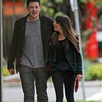 Cory Monteith and Lea Michele out in Vancouver 116056