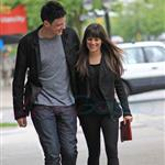 Cory Monteith and Lea Michele out in Vancouver 116057