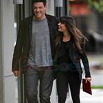 Cory Monteith and Lea Michele out in Vancouver 116058