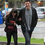 Cory Monteith and Lea Michele out in Vancouver 116070
