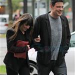 Cory Monteith and Lea Michele out in Vancouver 116071
