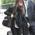 Lea Michele at YVR in Vancouver 116084