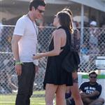 Cory Monteith flirts with tall girl at Coachella  83383