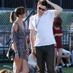 Cory Monteith flirts with tall girl at Coachella  83386