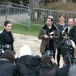 Marion Cotillard at Christian Dior Paris Fashion Week Fall 2009 31446