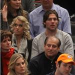 Carrie Underwood and Mike Fisher sit 5th row at Knicks game   77745