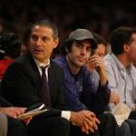 Sacha Baron Cohen at the Lakers game 49545