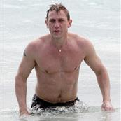 Daniel Craig shows off his body on holiday with Satsuki Mitchell in St Barts 29679