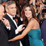 George Clooney and girlfriend Elisabetta Canalis in Venice 46437