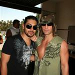 Criss Angel loser douchebag with Wilmer Valderrama in Vegas 19989