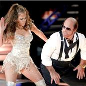 Tom Cruise as Les Grossman at MTV Movie Awards with Jennifer Lopez 62575