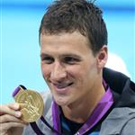 Ryan Lochte during the London 2012 Olympics 122344
