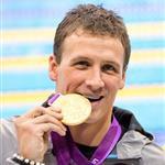 Ryan Lochte during the London 2012 Olympics 122348