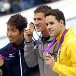 Ryan Lochte during the London 2012 Olympics 122350