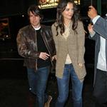 Tom Cruise and Katie Holmes in New York for dinner with Jon Bon Jovi to prep for Rock of Ages  83139