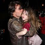 Tom Cruise and Katie Holmes in New York for dinner with Jon Bon Jovi to prep for Rock of Ages  83141