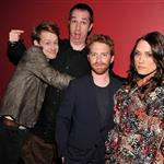 Macaulay Culkin, Matthew Senreich, Seth Green and Clare Grant attend the 2012 Adult Swim Upfront Party at Roseland Ballroom 118171
