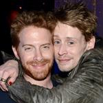 Macaulay Culkin and Seth Green attend the 2012 Adult Swim Upfront Party at Roseland Ballroom 118176