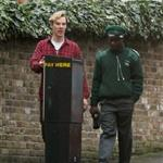 Benedict Cumberbatch gets a parking ticket in London 101750