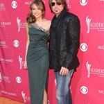 Miley Cyrus and Billy Ray Cyrusat the Academy of Country Music Awards 36223