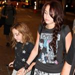 Miley and Noah Cyrus at the Miami Airport 51678