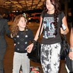Miley and Noah Cyrus at the Miami Airport 51679