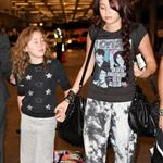 Miley and Noah Cyrus at the Miami Airport 51680