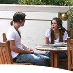 Miley Cyrus giving orders to Justin Gaston 38240
