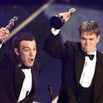 "Ben Affleck and Matt Damon win Original Screenplay ""Good Will Hunting"" at the the 70th Academy Awards  107648"