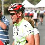 Matt Damon wearing spandex rides in Cape Argus bike tour in South Africa for charity while filming The Human Factor with Morgan Freeman and Clint Eastwood 34440