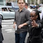 Matt Damon at the Elysium presentation at Comic Con 2012 120733