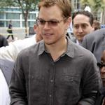Matt Damon at the Elysium presentation at Comic Con 2012 120737