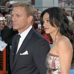 Daniel Craig and Satsuki Mitchell at London premiere of Flashbacks of a Fool 19383