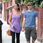 Daniel Radcliffe holding hands with girlfriend in New York 92111