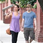 Daniel Radcliffe holding hands with girlfriend in New York 92115
