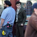 Daniel Radcliffe on the Kill Your Darlings film set in Brooklyn NY 109243