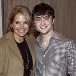 Daniel Radcliffe backstage after a performance of How To Succeed In Business Without Really Trying on Broadway 81768