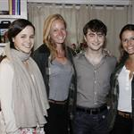 Daniel Radcliffe backstage after a performance of How To Succeed In Business Without Really Trying on Broadway 81769