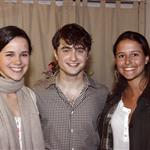 Daniel Radcliffe backstage after a performance of How To Succeed In Business Without Really Trying on Broadway 81772