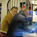 Daniel Craig in Stockholm working on The Girl With The Dragon Tattoo 70064