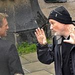 David Fincher directs Daniel Craig in Sweden on the set of The Girl With The Dragon Tattoo 70586