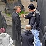 David Fincher directs Daniel Craig in Sweden on the set of The Girl With The Dragon Tattoo 70587