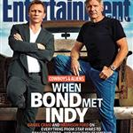 Daniel Craig promotes Cowboys & Aliens on EW with Harrison Ford  90467
