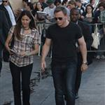 Daniel Craig leaving Jimmy Kimmel  90475