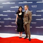 Daniel Craig and his wife Rachel Weisz attend The Girl With The Dragon Tattoo premiere in Madrid 101741