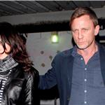 Daniel Craig and Rachel Weisz at Little Door in West Hollywood Monday night 81103