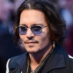 Johnny Depp attends the European premiere of Dark Shadows 114075
