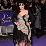Helena Bonham Carter attends the European premiere of Dark Shadows 114092